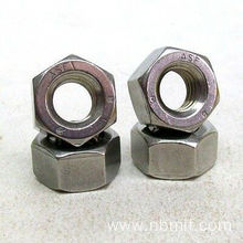 M24 3.00 Pitch ASTM A194 2H Hexagon Nuts